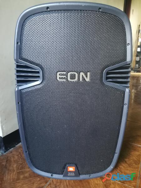 Sonido profesional corneta jbl amplificada eon 515 ( 1 unidad ) $ 350 articulo usado en perfectas co