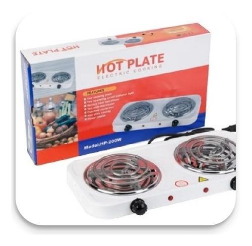 Cocina electrica 2 hornillas hot plate portátil.