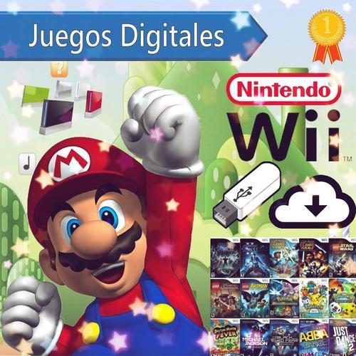 Juegos digitales nintendo wii (tienda)
