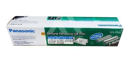 Rollo de película para fax panasonic kx-fa92