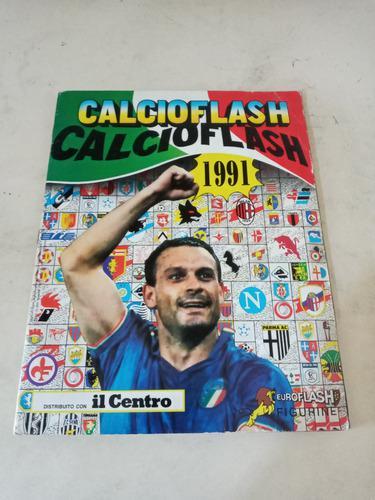 Album flash futbol calcio italiano año 1991 serie a