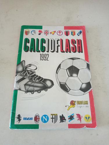 Album flash futbol calcio italiano año 1992 serie a