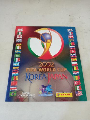 Album panini fifa mundial korea japon 2002 vacío