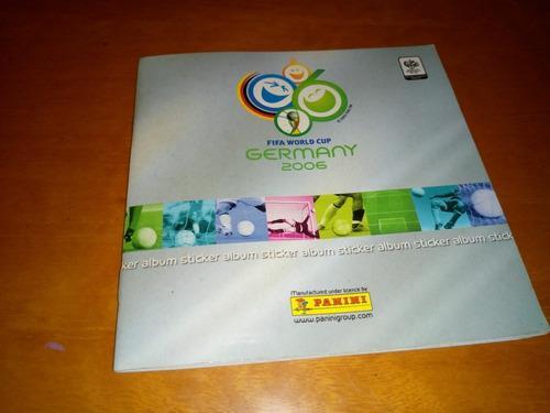 Album panini mundial 2006 completo buen estado