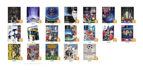 Albumes fútbol champions league pdf