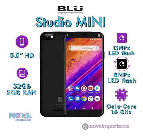 Blu studio mini 32gb+2gb ram / cam 13mpx/8mpx. nuevo!!!