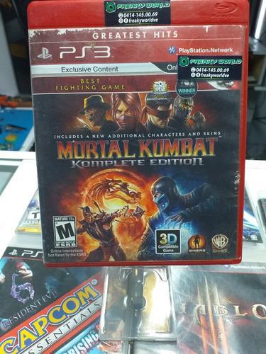 Juegos ps3 mortal kombat 9 complete edition somos tienda