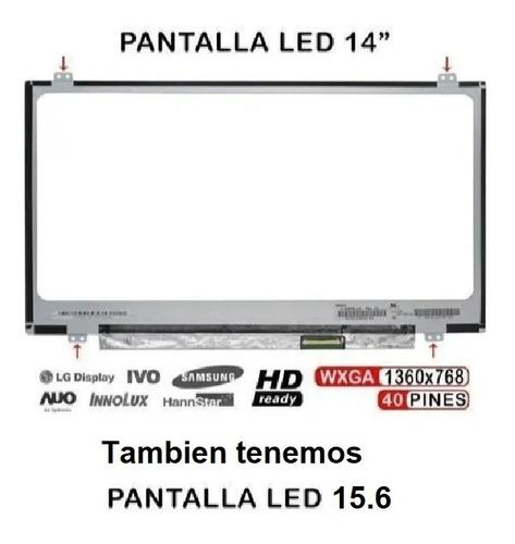 Pantalla 14.0 n140bge-l42 40 pin glossy 1366x768 lenovo s400