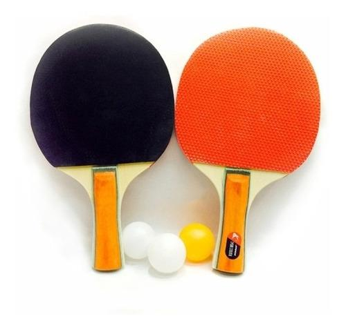 Raqueta tenis mesa gruesa 2 1 juego