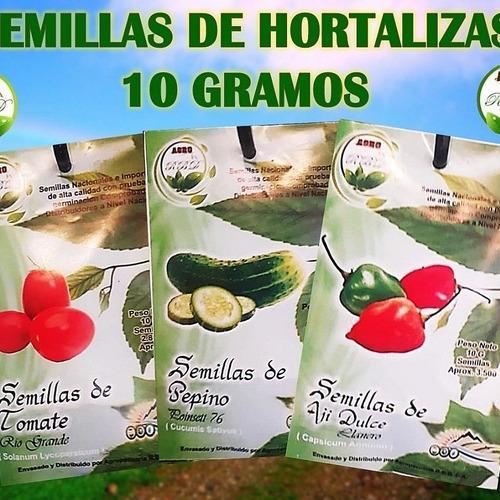 Sobres de 10gr 2800 semillas tomate río grande