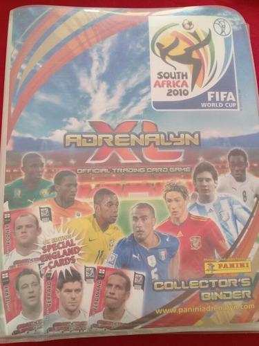 Lbum adrenalyn xl fifa south áfrica 2010
