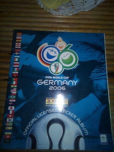 Lbum panini germany 2006 lleno completo