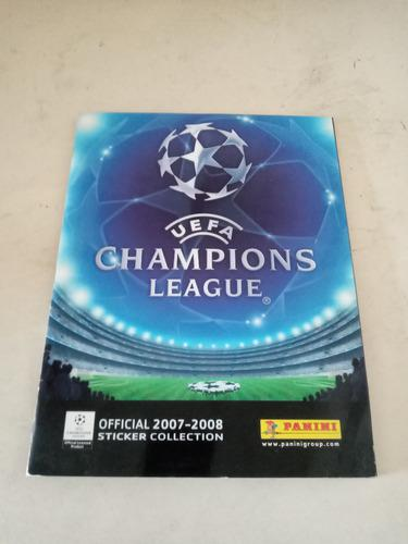 Lbum uefa champions league 2007 2008 panini
