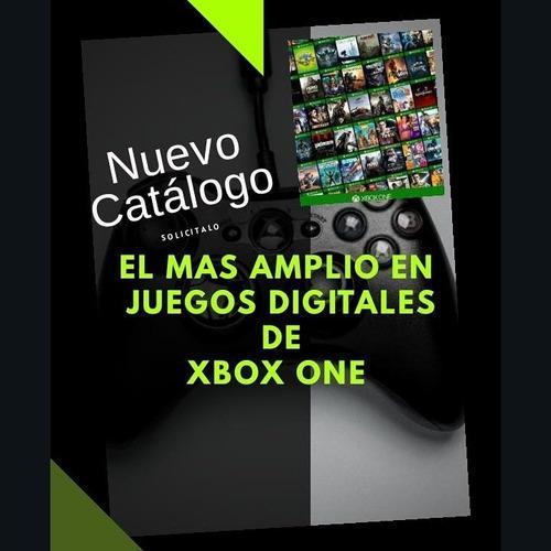 Juegos de xbox one digitales 100% originales con garantía