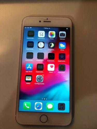 Iphone 6s plus 16gb rosado touch id liberado