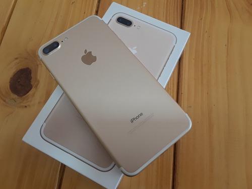Iphone 7 plus gold bello de 32gb