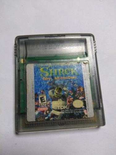 Juego gameboy color fairy tale freak down