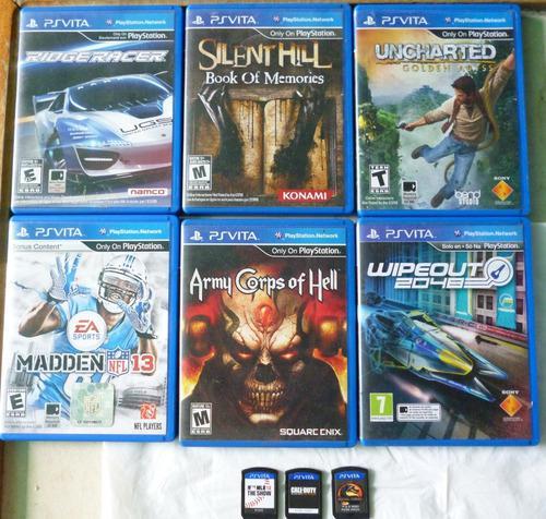 Playstation vita juegos originales cambio por minidisc sony