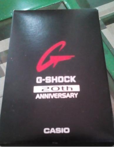 Reloj casio g-shock 20th aniversary 40verdes