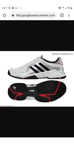 Zapatos adidas barricade court de tenis profesional original