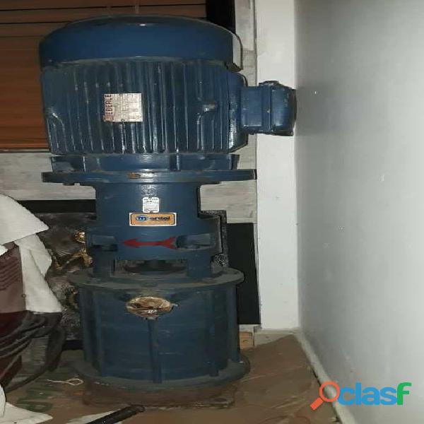 Bomba centrifuga trifásica vertical tipo jaula de ardilla 15 hp