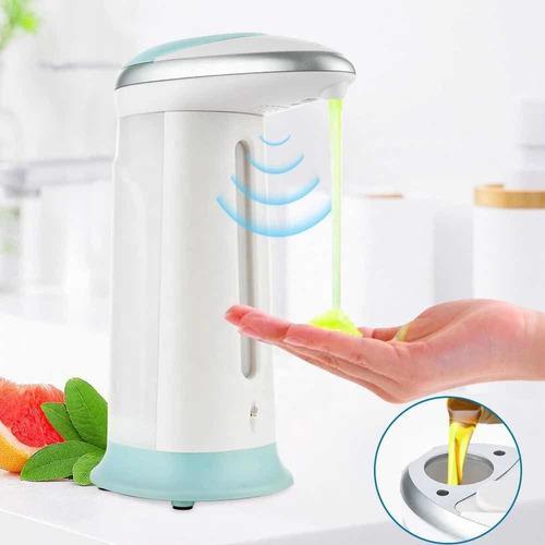 Dispensador lavamano de jabon liquido 400ml automatico