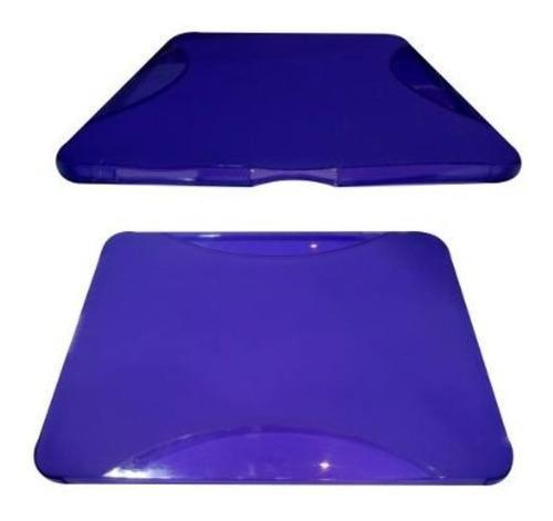 Forro estuche goma silicon protectora ipad colores