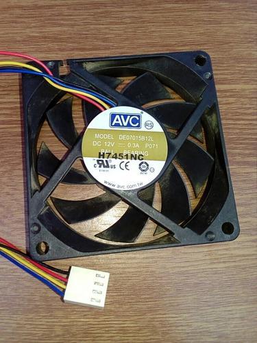 Ventilador enfriador 7x7 para cpu computadoras usada