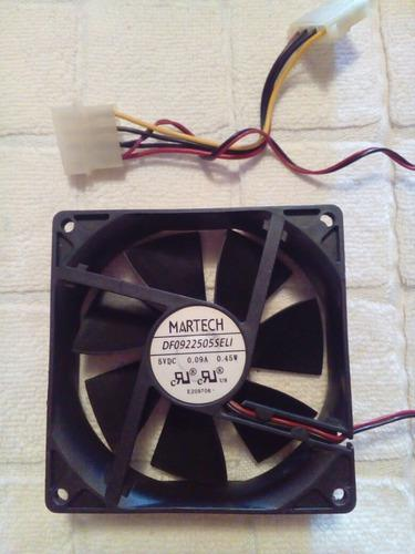 Ventilador enfriador 9x9 cpu computadoras martech usado