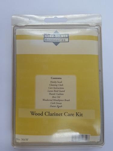 Kit de limpieza y mantenimiento para clarinete selmer
