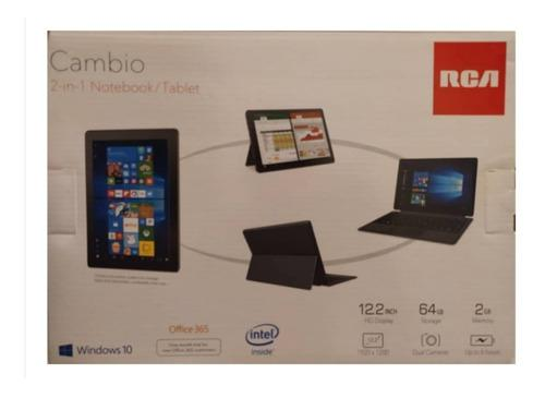 Laptop/tablet rca de 12.2' full hd