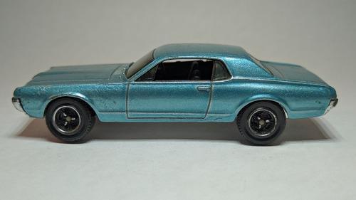 Matchbox carrito miniatura mercury cougar 1968 1vrde