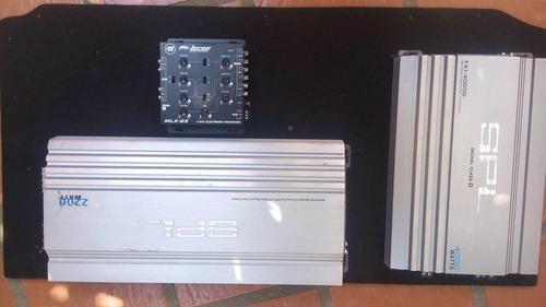 Planta o amplificador spl monoblock 4000 watts