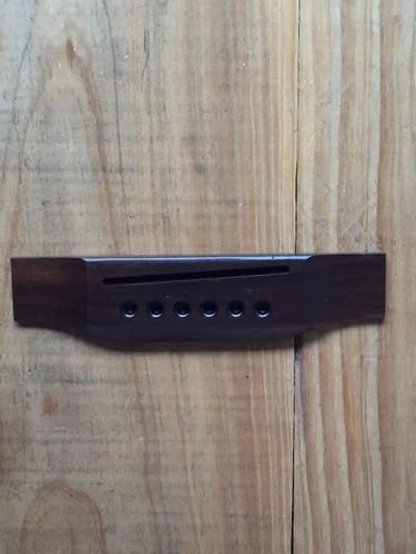 Puente de madera para guitarra acustica estilo martin pg0046
