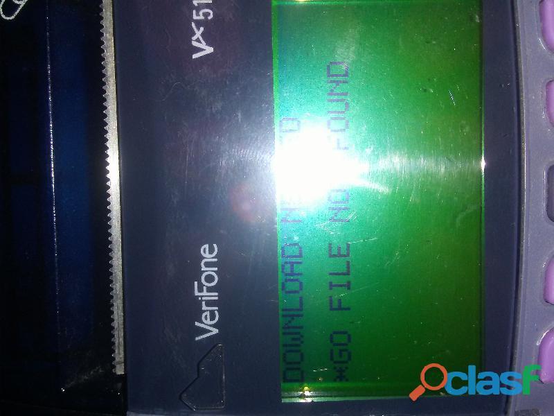 Punto de venta verifone vx510 para reparar o repuesto