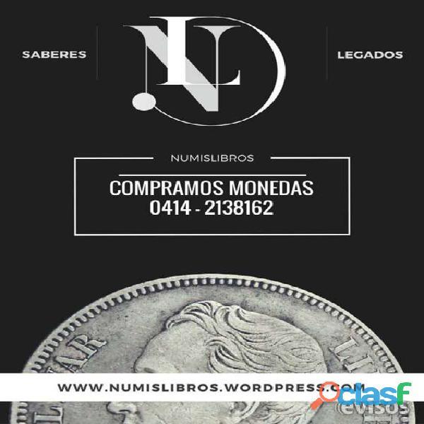 Valoramos tus monedas de oro y plata de colección. somos numislibros