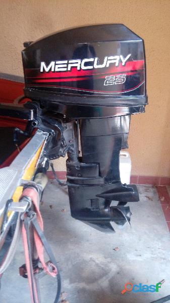 Motor fuera de borda mercury 25 hp