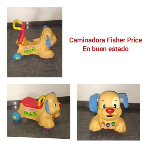 Caminadora fischer price (perrito)