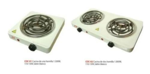 Cocina eléctrica 2 hornillas + cocina 1 hornilla. 2x1 nueva