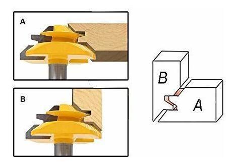 Hayul punta enrutador carpinteria vastago 1 4 broca