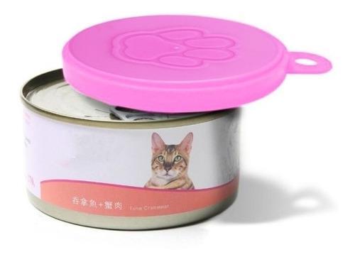 Perro 3 pcs alimento gato sellado enlatado plastico