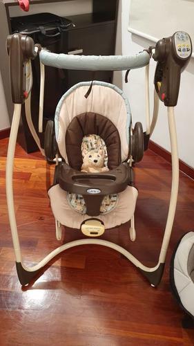 Silla columpio marca graco para bebés
