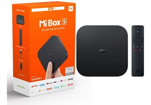 Xiaomi mi box s android tv 4k con google asistente