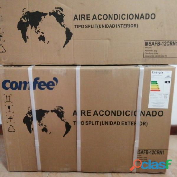 AIRE ACONDICIONADO (A/A) SPLIT 12 btu COMFEE