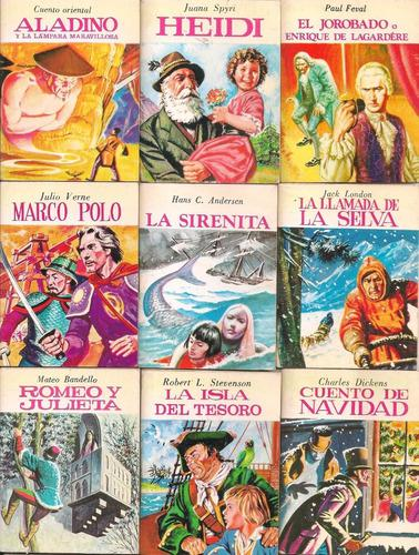 34 cuentos infantiles ilustrados en miniatura rara