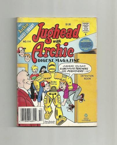 Cómic archie y jughead, torombolo, texto en inglés, n°