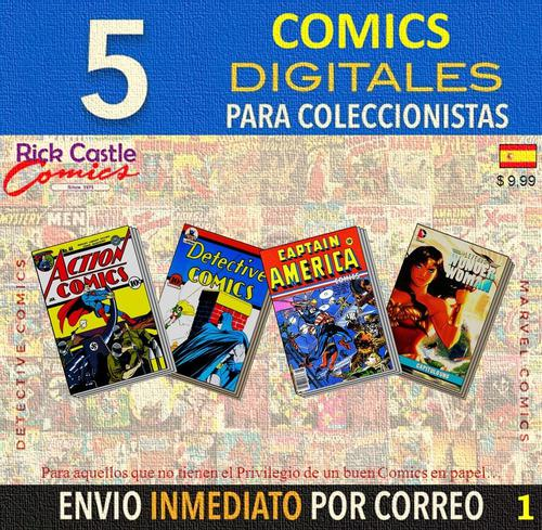 Comics dc & marvel