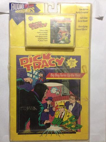 Dick tracy audiolibro cómics y casette