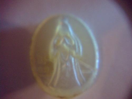 Dije De Nácar Con Imagen De La Virgen De Fátima