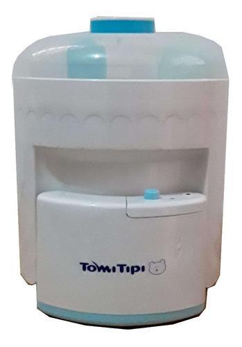 Esterilizador de teteros tomi tipi incluye 2 teteros